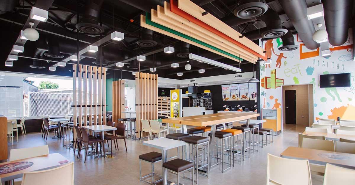 """McDonald's abrió restaurante en Sabanilla bajo un diseño """"más moderno"""""""