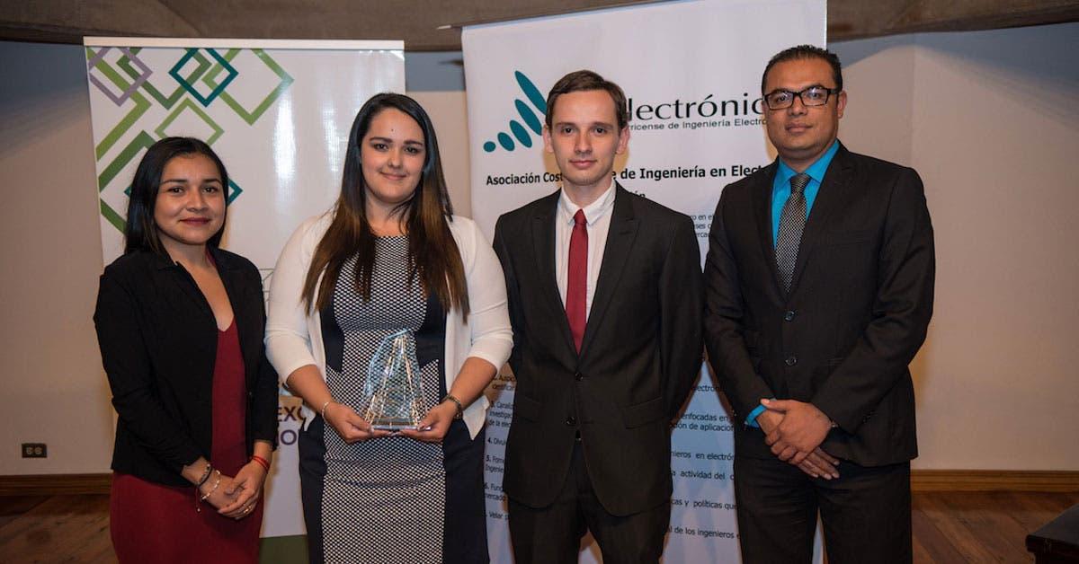 Estudiantes del TEC ganan Premio Nacional de Electrónica