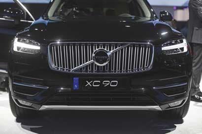 Uber acuerda compra de 24 mil vehículos autónomos de Volvo