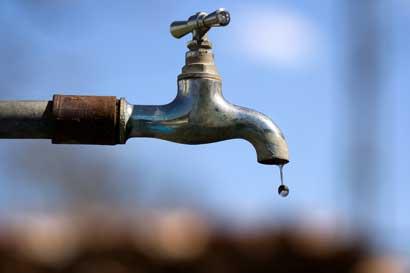 Vecinos de Santa Ana estarán sin agua mañana