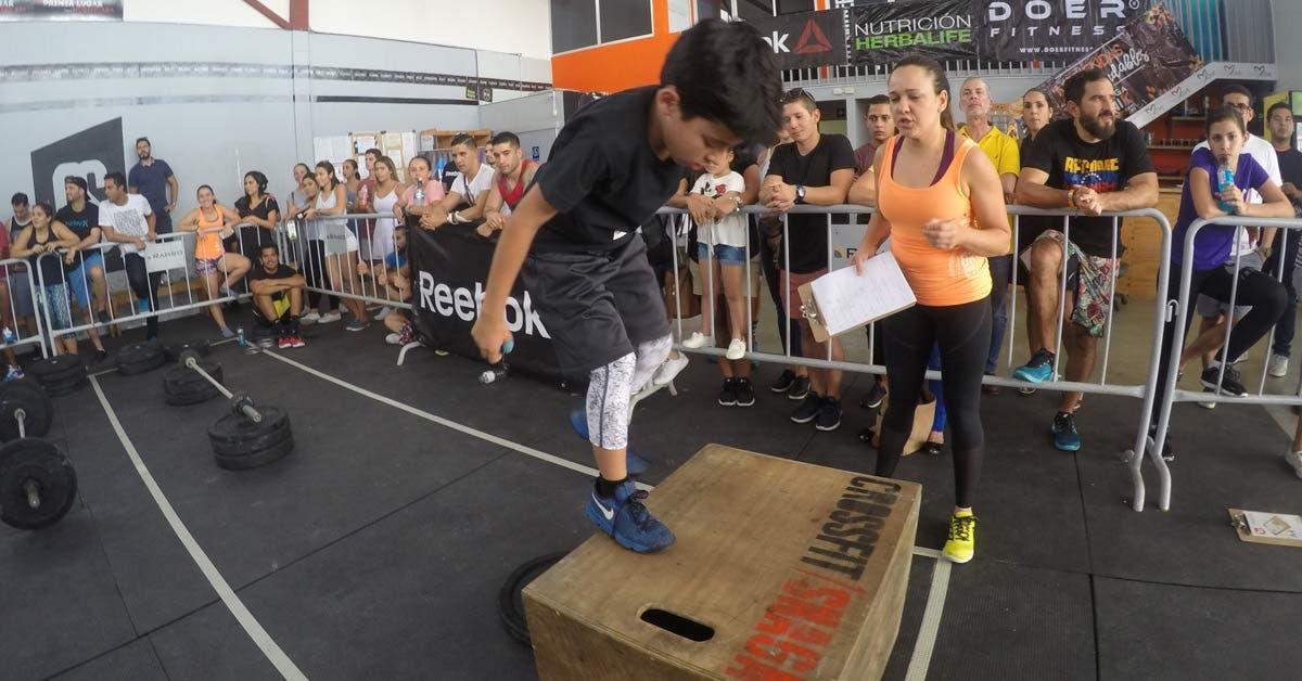 Niños desde los cinco años participarán en torneo de CrossFit