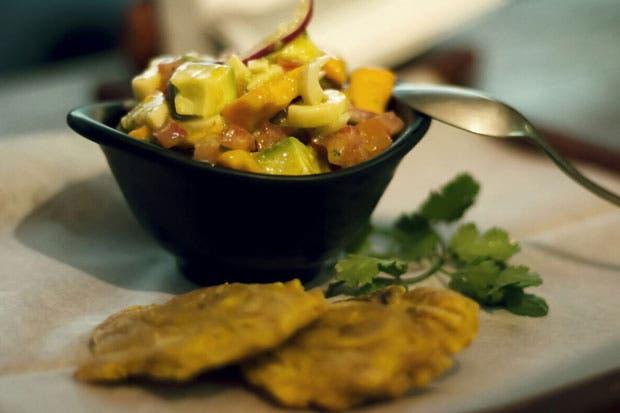 Restaurante La Guchería: Ceviche de Pejibaye