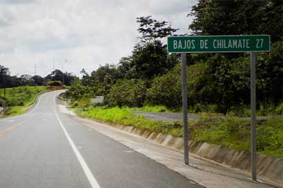 MOPT afirma que carretera Chilamate-Vuelta Kopper es segura