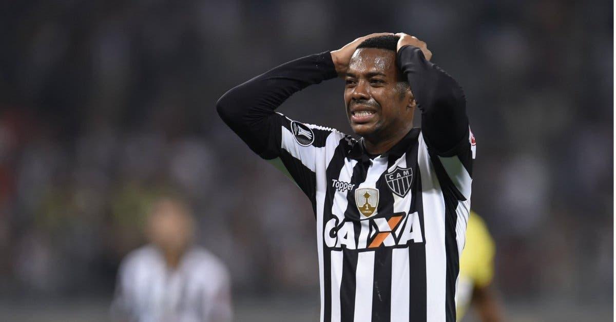 Robinho condenado a nueve años de cárcel por violación