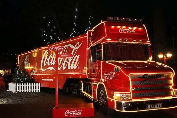 Coca Cola iluminará su árbol de Navidad el 3 de diciembre
