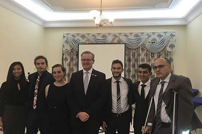 Costa Rica inauguró embajada en Emiratos Árabes Unidos