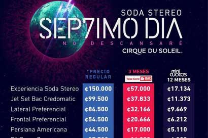 Hoy salen a la venta las entradas para Cirque du Soleil