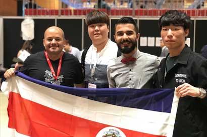 Estudiante del TEC representó a Costa Rica en Mundial de Barismo