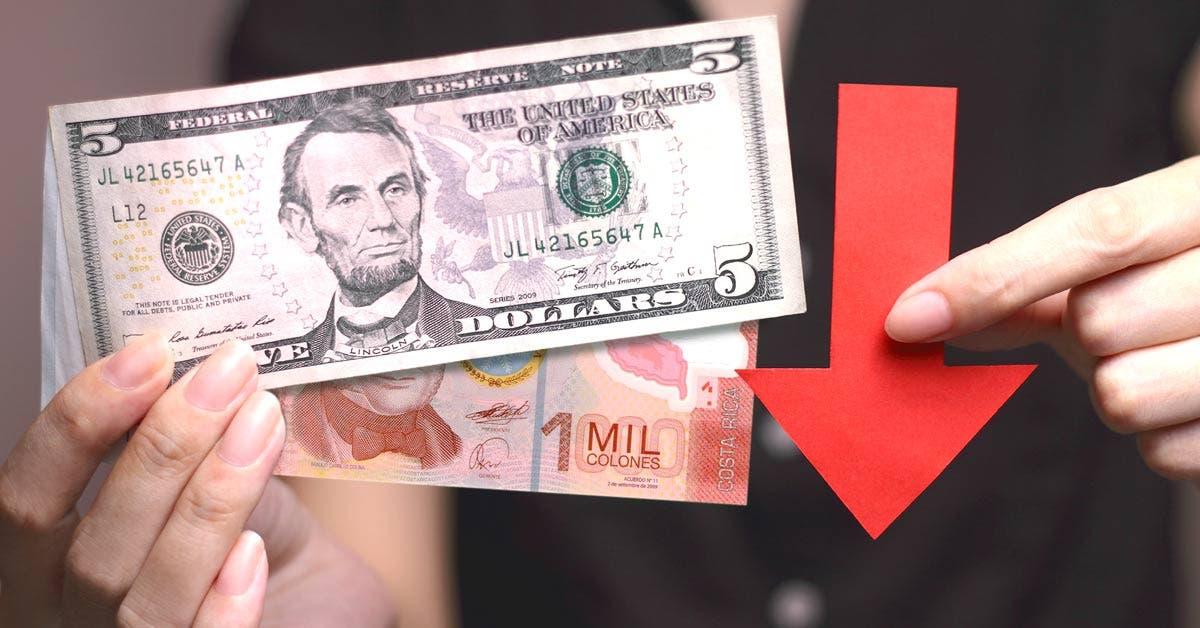 Tipo de cambio bajaría por $1.500 millones que trae Hacienda