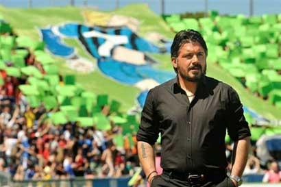 Milán destituye a Montella y nombra a Gattuso como nuevo técnico