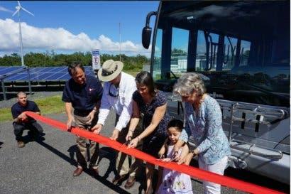Ad Astra presentó primer autobus eléctrico de hidrógeno