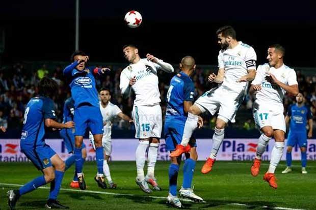 Navas regresa en tibio empate del Madrid en Copa del Rey