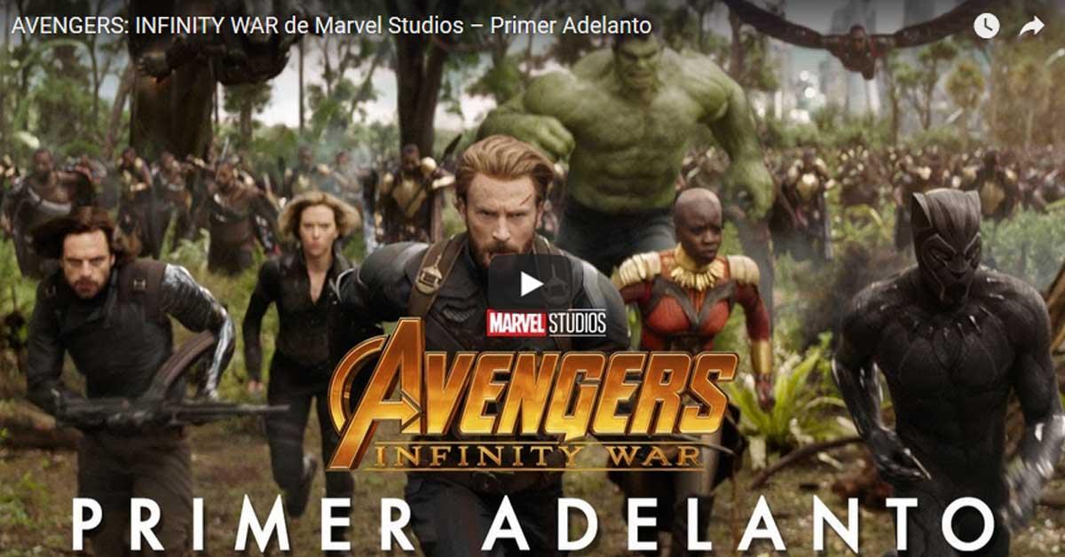 "Marvel lanza primer adelanto de ""Avengers: Infinity War"""