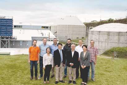 Misión de JICA de aguas residuales visitó Costa Rica