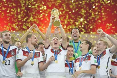 Alemania apunta a ingresar al selecto club de bicampeones