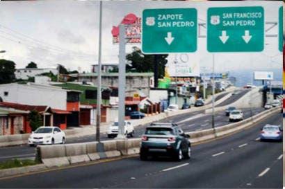 Cierre parcial en Paso Ancho este domingo