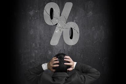 Cuidado con aumento en tasas de interés en colones y dólares