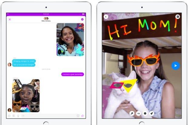 Facebook crea messenger especial para niños
