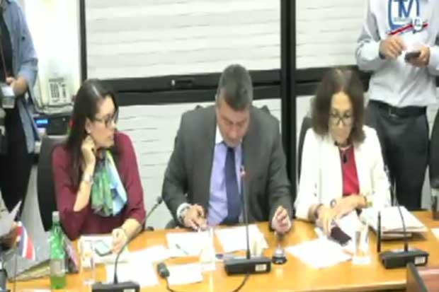 Comisión legislativa sesionará hasta abril de 2018 e investigará más créditos
