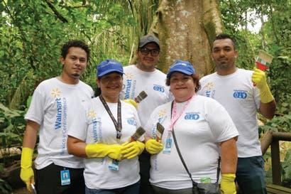 Voluntarios de Walmart mejoraron calidad de vida en comunidades