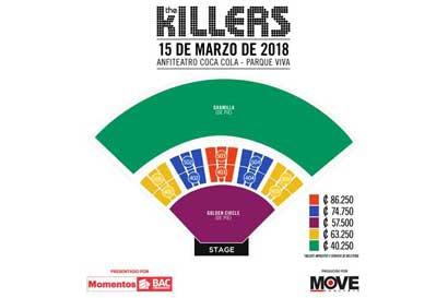 El sábado inicia venta de entradas para The Killers