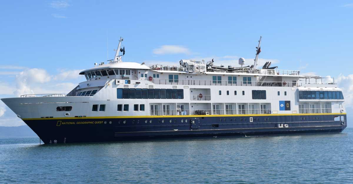 Crucero de National Geographic atracó en el país