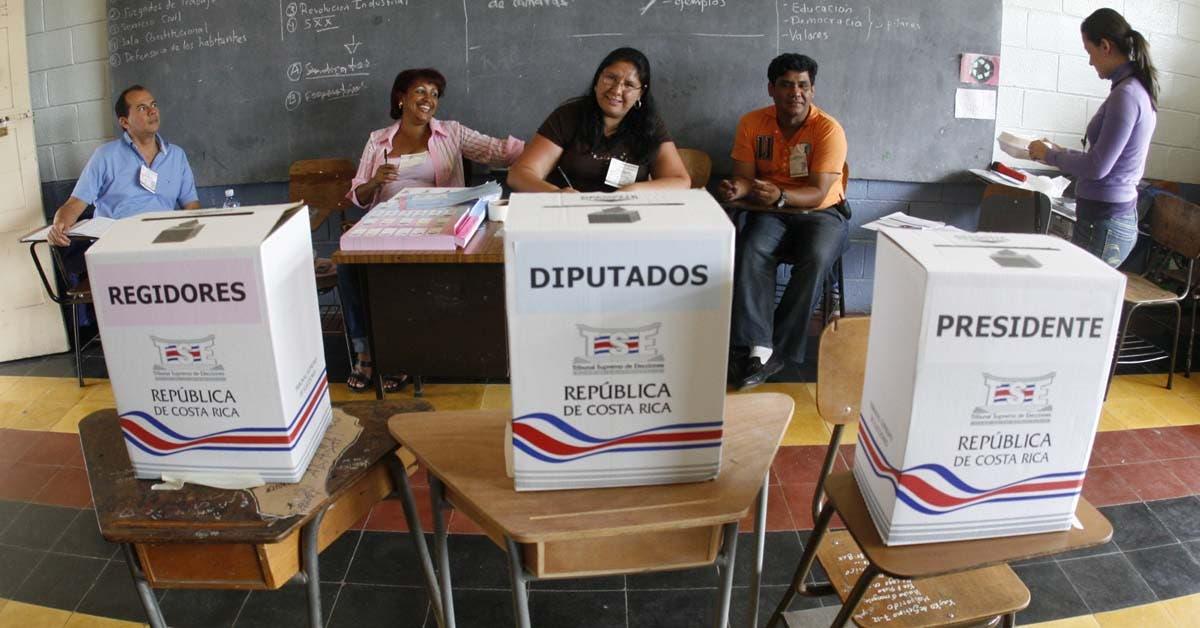 56% de costarricenses participarían en próximas elecciones, según la UNA
