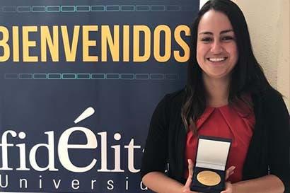 Estudiante ganó premio nacional por app que previene inundaciones
