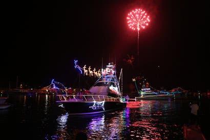 Tradicional desfile de barcos iluminará Quepos
