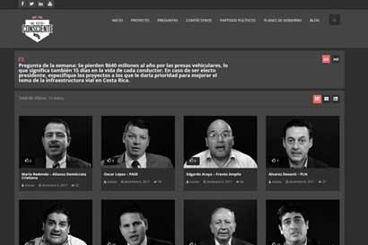 Plataforma permite conocer en 30 segundos propuestas de candidatos presidenciales