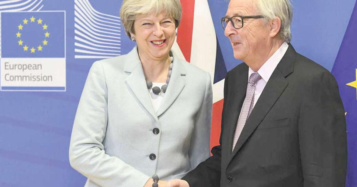 Reino Unido logra acuerdo con UE y abre vía a acuerdo comercial