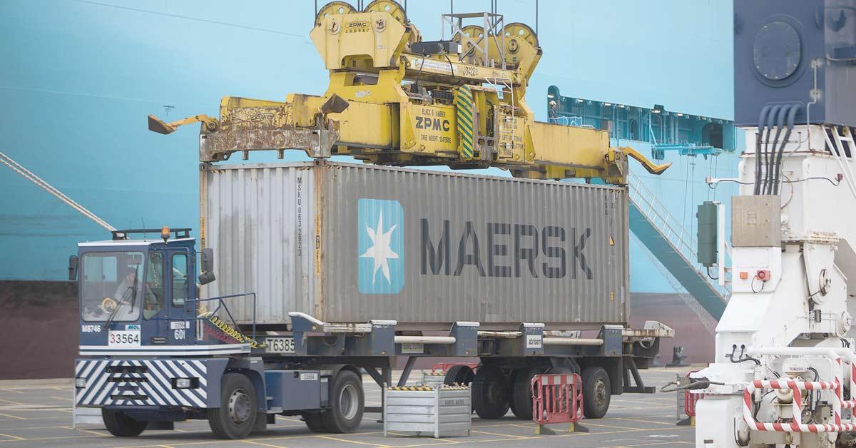 Maersk estima que bajarán tarifas de transporte marítimo
