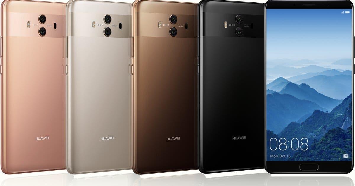 Usuarios podrán obtener Mate 10 Pro de Huawei en preventa