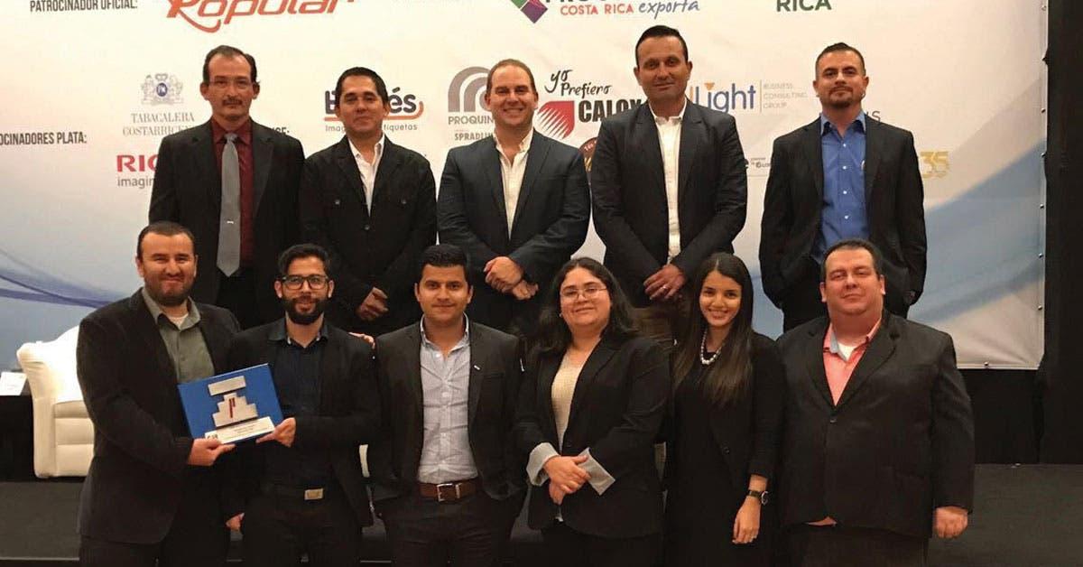 Cámara de Industrias premia mejora continua de Zollner Costa Rica