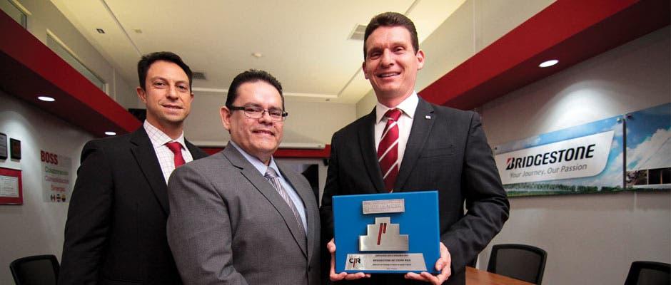 Empresas de Bridgestone obtienen reconocimiento de Compromiso a la Excelencia