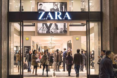 Dueño de Zara quiere $472 millones por 16 tiendas