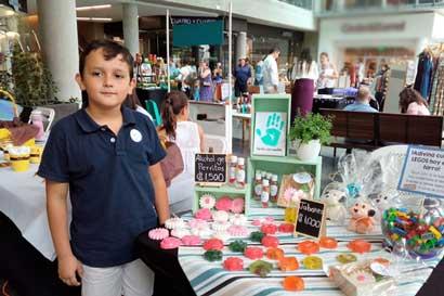 Niños emprendedores ofrecerán sus productos este fin de semana