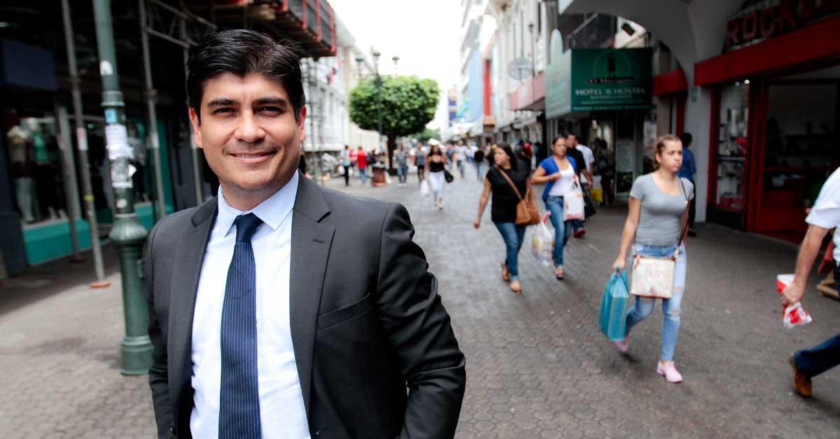 """Carlos Alvarado: """"Nuestro plan de gobierno tandea a los otros"""""""