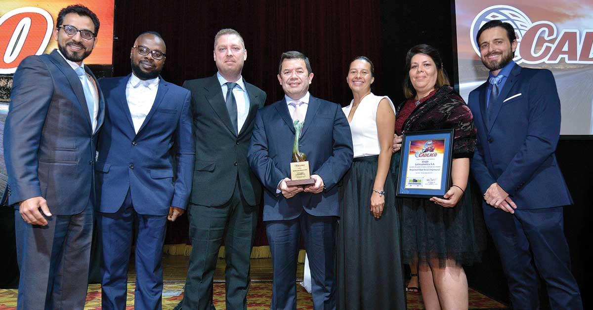 SYKES recibe premio Cadexco de Responsabilidad Social Empresarial