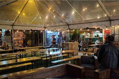 """Nuevo parque de """"food trucks"""" abrirá mañana en San Pedro"""