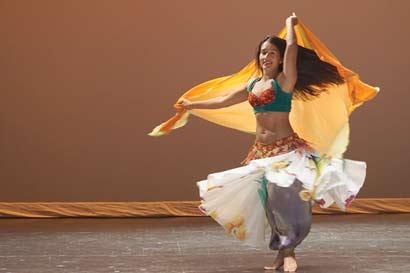 Danzas del Oriente Medio se disfrutarán el domingo