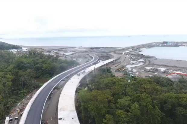 Conexión entre ruta 32 y terminal de Moín avanza en 80%