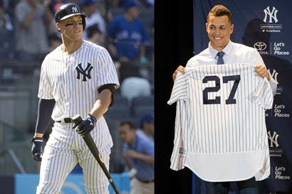 ¡Stanton vs. Judge!