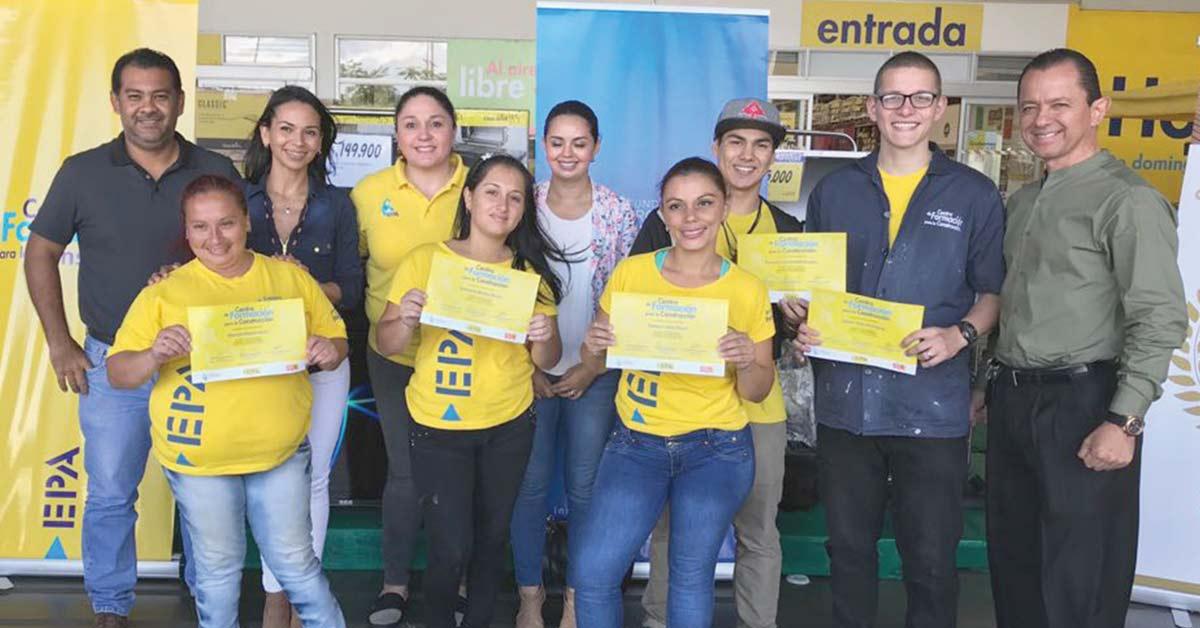 EPA y Sur contribuyen a capacitación de jóvenes de León XIII