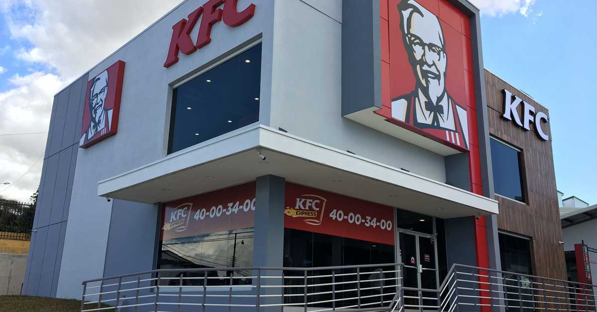 KFC inauguró en Sabanilla su restaurante número 40