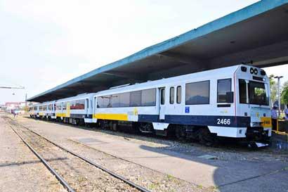 Servicio de tren se habilitará nuevamente hasta enero