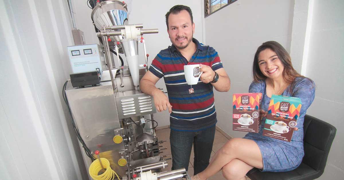 Café Infusión mezcla calidad del grano con inmediatez del instantáneo