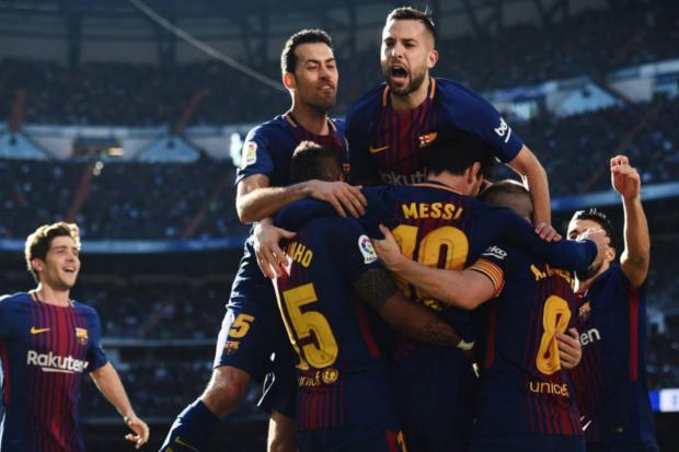 El Barca sentencia la Liga española
