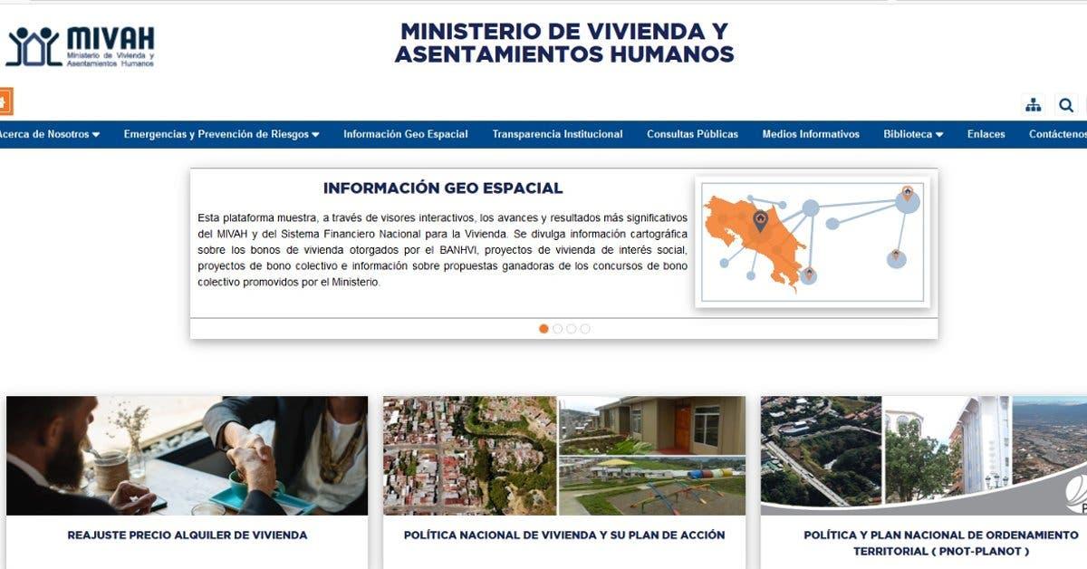 Ministerio de vivienda  lanza herramienta que visualizará la inversión en el sector