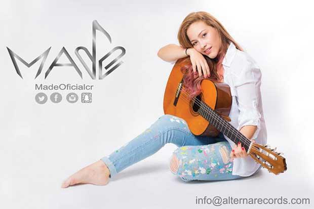 Cantante nacional Made grabó en Colombia
